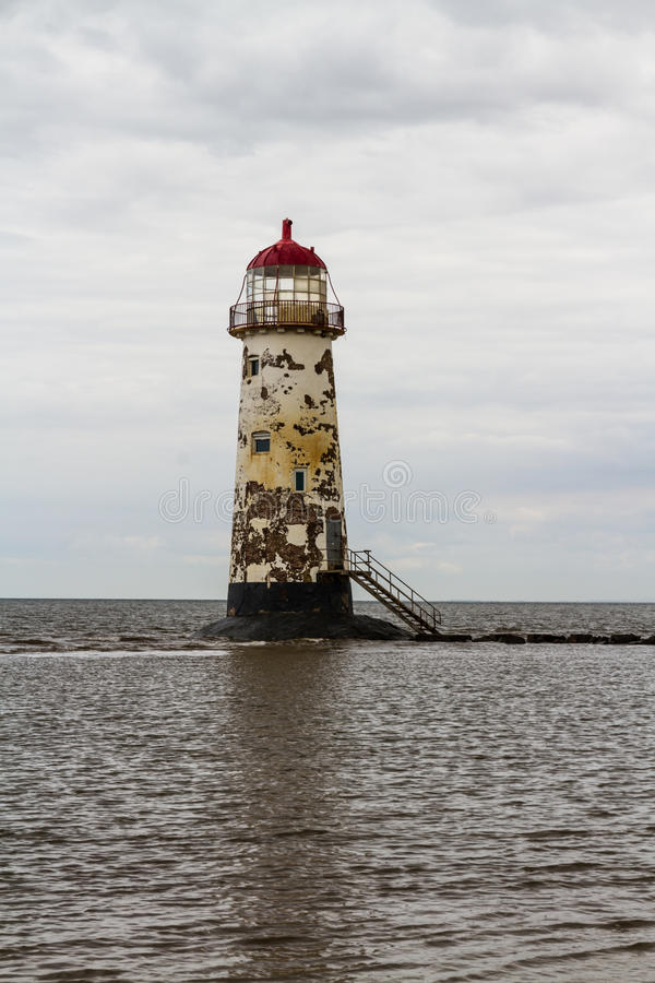 Punkt Ayr latarnia morska fotografia stock