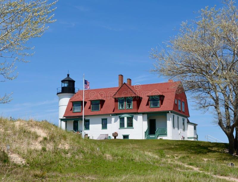Punkt Betsie-Leuchtturm stockbild
