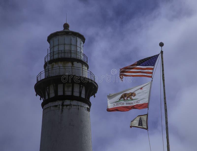 punkt för Kalifornien fyrduva arkivfoto