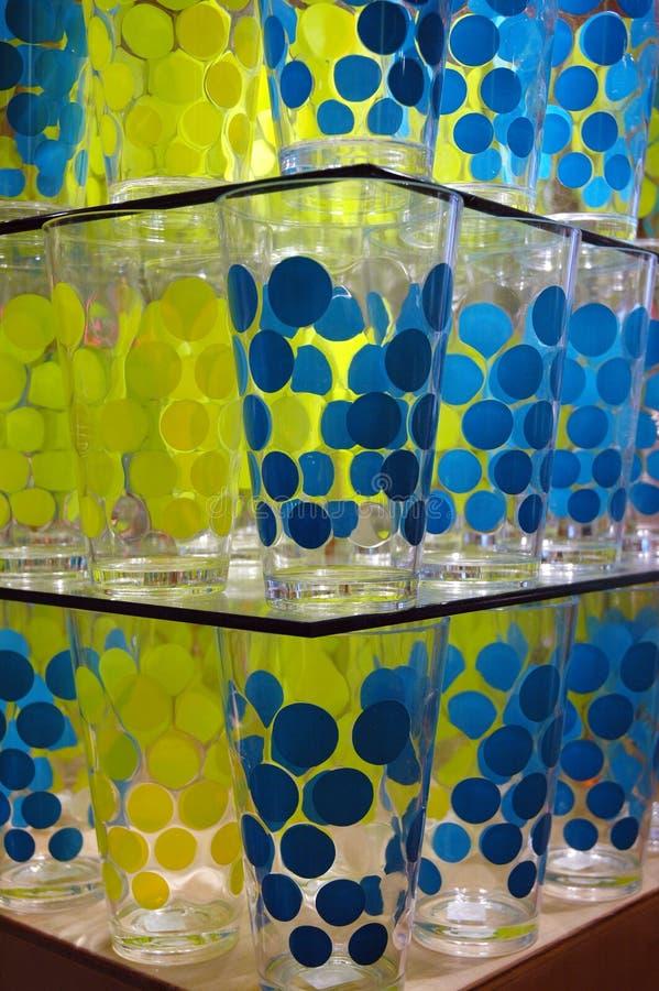Punkt-Gläser lizenzfreies stockbild