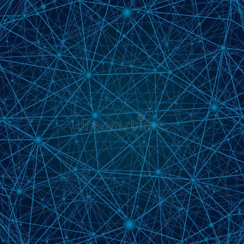 Punkt, Linie, Zusammensetzung, das globale darstellend, Network Connection, internationale Bedeutung lizenzfreie abbildung