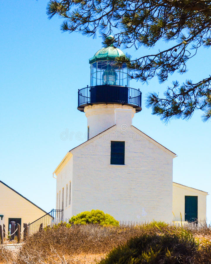 Punkt Loma Lighthouse stockbilder