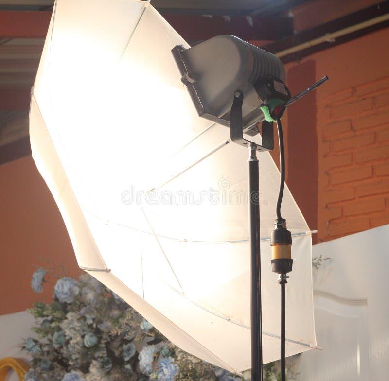 Punkt oświetleniowa pracowniana fotografia zdjęcie royalty free