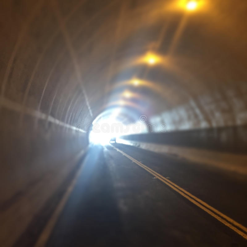 Punkt Richmond Tunnel lizenzfreie stockfotos