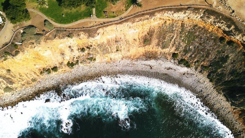 Punkt Vicente Cliffs arkivbild