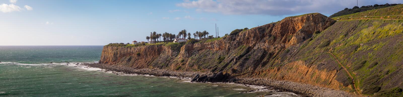 Punkt Vicente Panorama royaltyfri foto