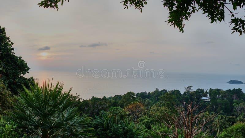 Punkt widzenia wyspa zdjęcia royalty free