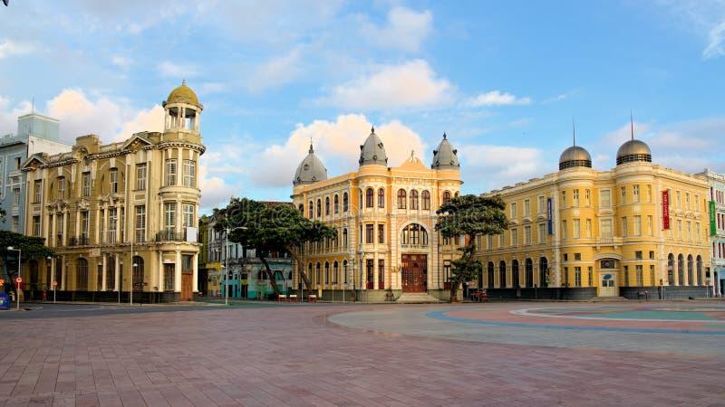 Punkt Zerowy Wybuchu Recife, Pernambuco, Brazylia obraz royalty free
