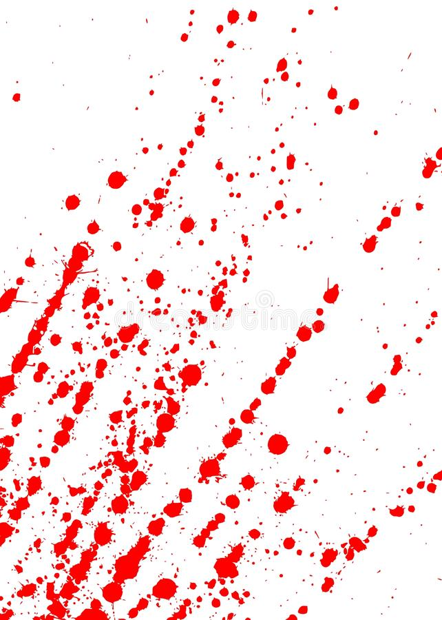 Punkte des Bluts vektor abbildung