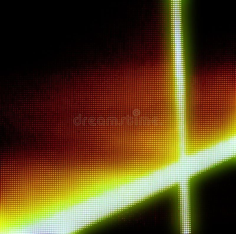 Punktematrix-Videowand lizenzfreie stockbilder