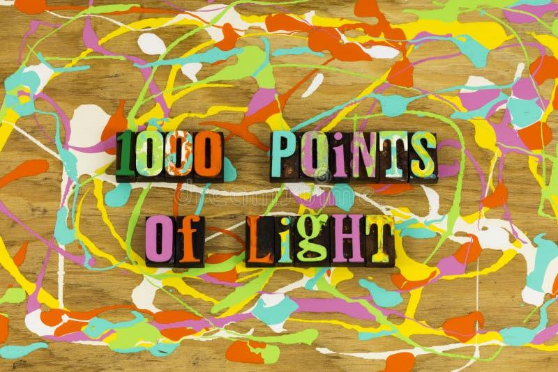 1000 punkter av den ljusa presidentbusken fotografering för bildbyråer