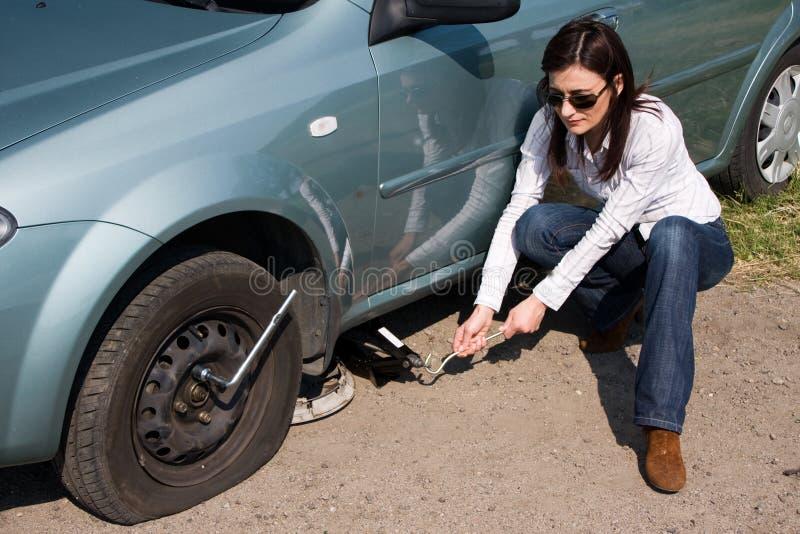 punkterat hjul arkivbild