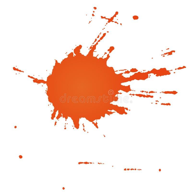 Punktfarbe (Vektor) stock abbildung