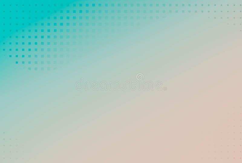 Punktiert, Knall Art Background, Knall Art Pattern Symbolischer Hintergrund lizenzfreie abbildung