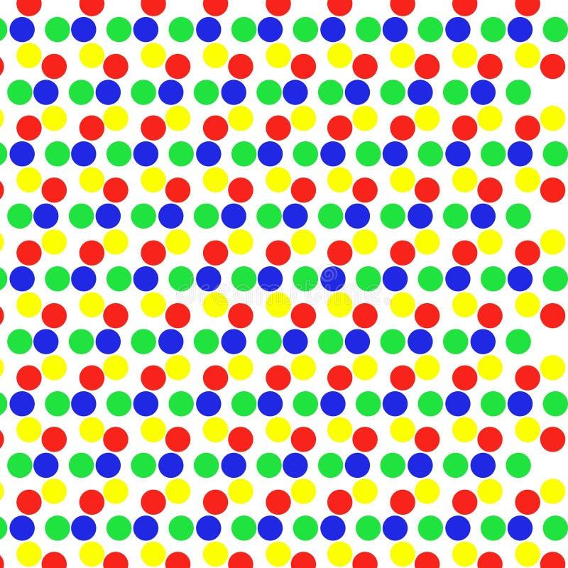 Punktmusterzusammenfassung stock abbildung