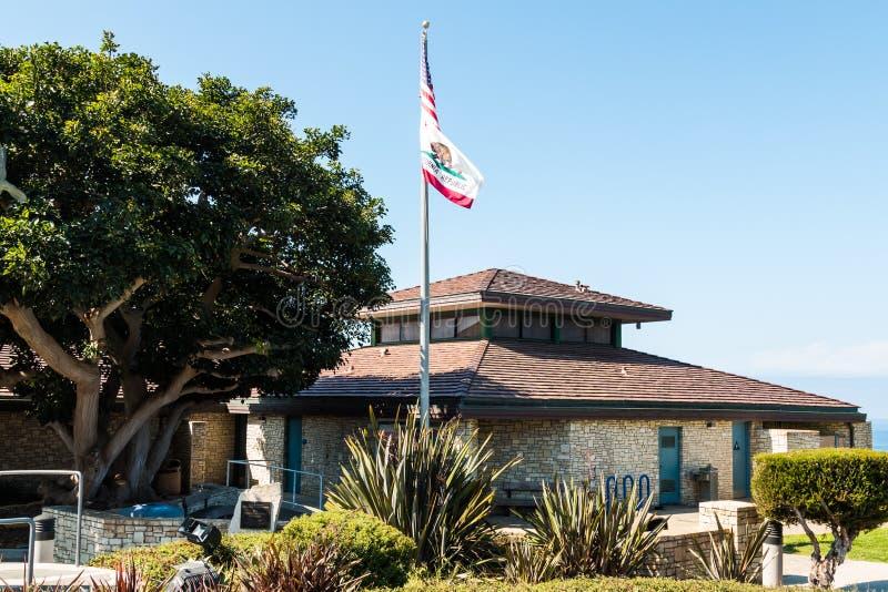 Punktu Vincente Interpretacyjny centrum w Los Angeles okręgu administracyjnym obrazy royalty free