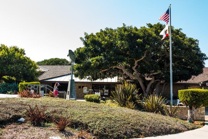 Punktu Vincente Interpretacyjny centrum w Rancho Palos Verdes zdjęcie stock