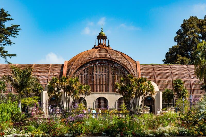 Punktu zwrotnego ogród botaniczny w balboa parku obraz royalty free
