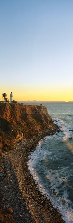 Punktvicente-Leuchtturm, San- Pedrohafen, CA lizenzfreie stockfotos