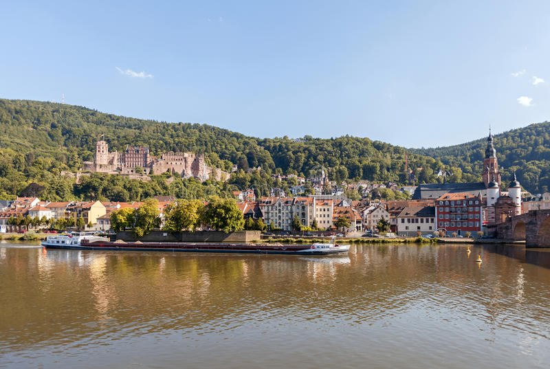 Punkty zwrotni Heidelberg zdjęcia royalty free