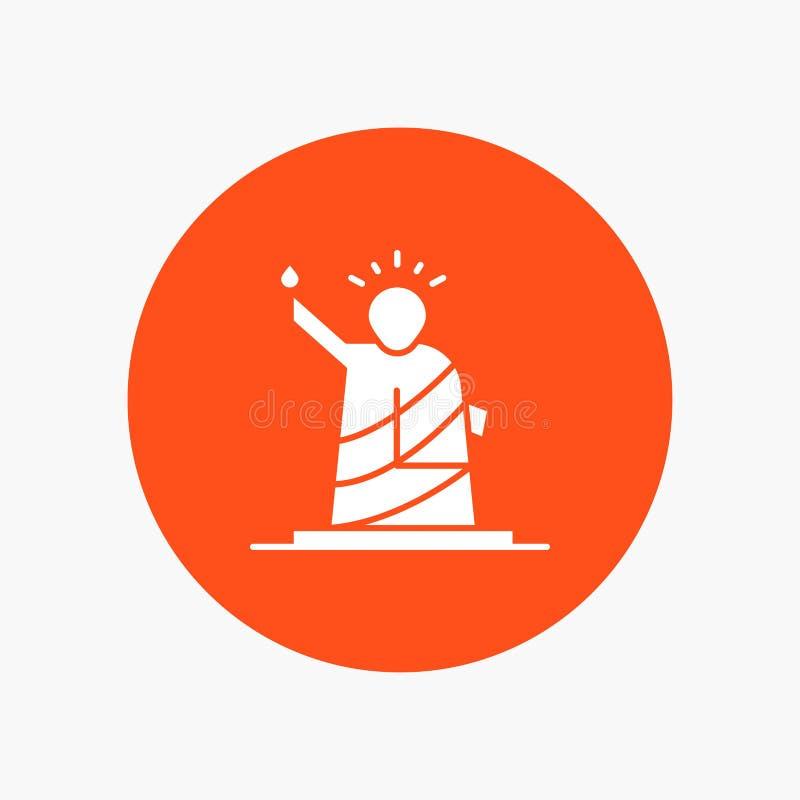 Punkty zwrotni, swoboda, statua, Usa royalty ilustracja