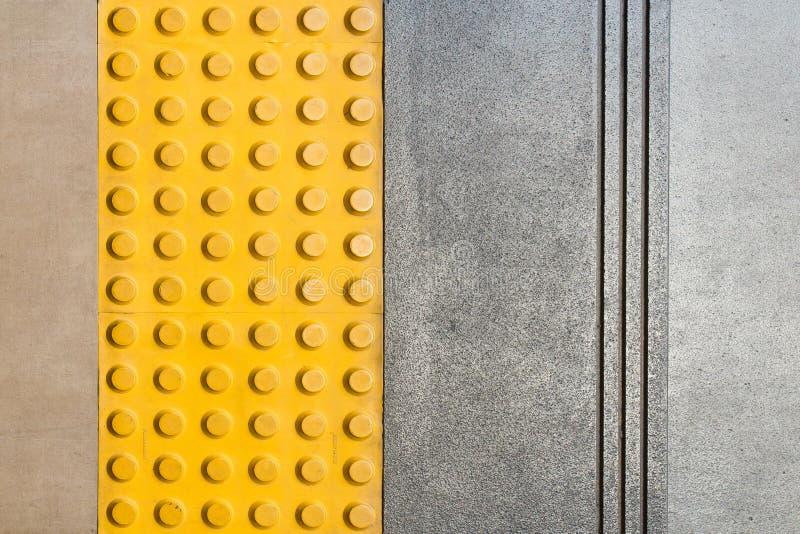 Punktzeichen auf dem Boden stockbild