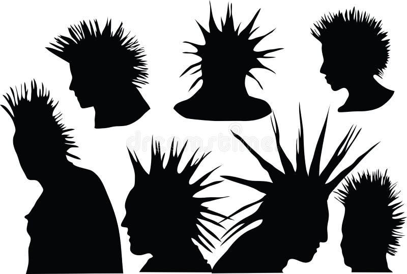 Punkyes stock de ilustración