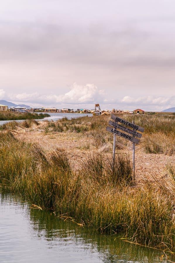 Puno, lago Titicaca foto de archivo libre de regalías