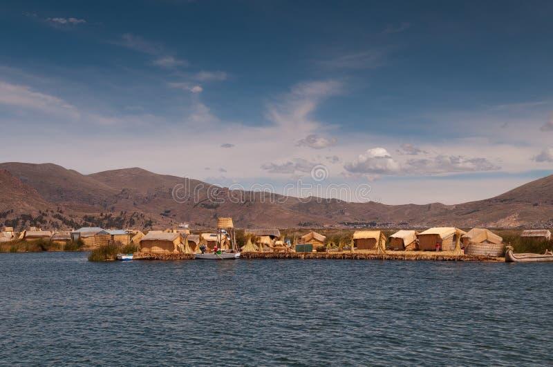 Puno, lago Titicaca imagen de archivo libre de regalías