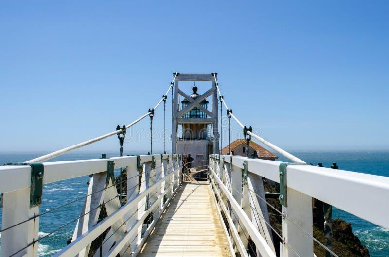 Punt Bonita Lighthouse stock foto