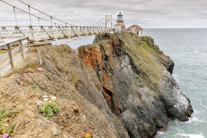 Punt Bonita Lighthouse royalty-vrije stock afbeelding