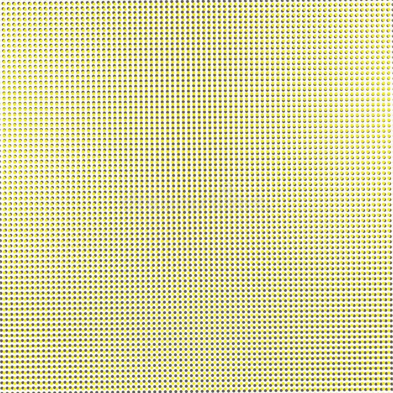 Punt het gele fonkelen stock foto's