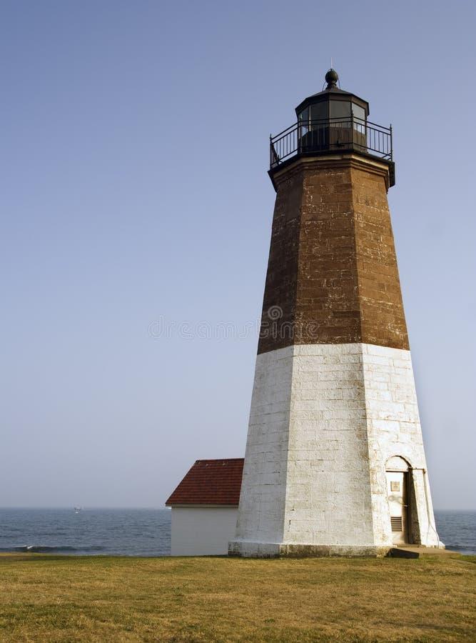 Punt Judith Lighthouse royalty-vrije stock fotografie