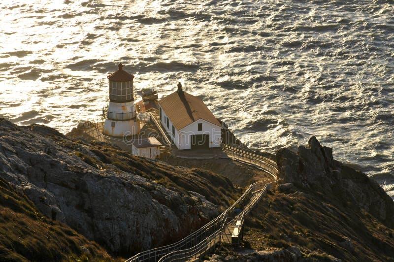 Punt Reyes Lighthouse stock foto's