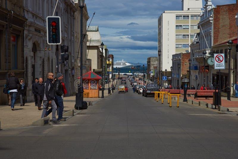 Punta Arenas stockbild