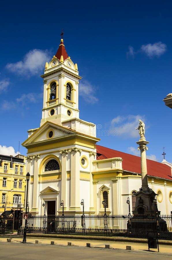 Punta Arenas Church royalty free stock image