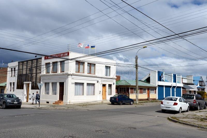Punta Arenas ist eine Stadt in Chile lizenzfreie stockbilder