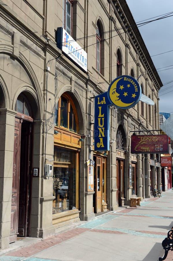 Punta Arenas ist eine Stadt in Chile lizenzfreie stockfotografie
