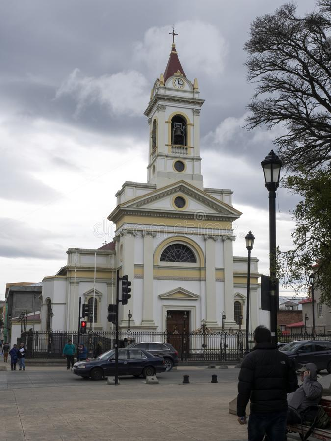 Punta Arenas, Patagonia, o Chile foto de stock royalty free