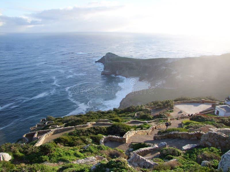 Punta/Cabo de Buena Esperanza, Ciudad del Cabo del cabo fotografía de archivo libre de regalías