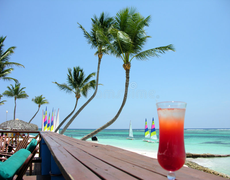 Punta Cana Rückzug lizenzfreies stockfoto