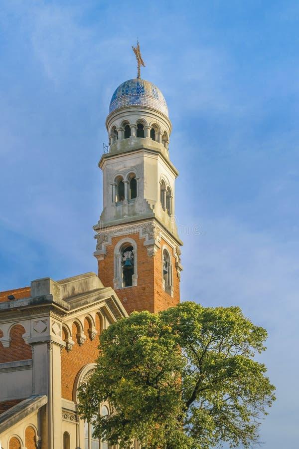Punta Carretas kyrka, Montevideo, Uruguay royaltyfri fotografi