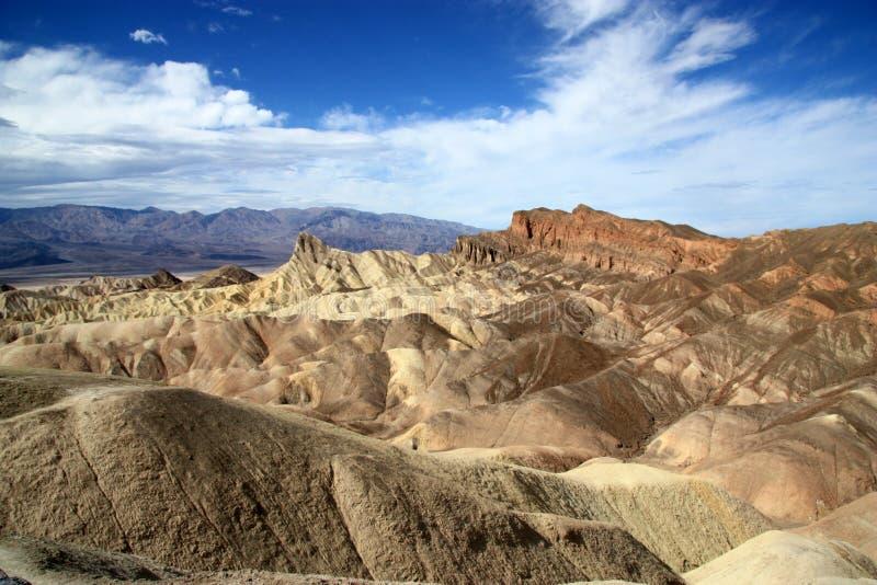 Punta de Death Valley Zabriskie imágenes de archivo libres de regalías
