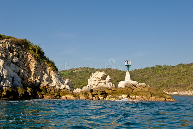 Download Punta De La Etiqueta De Plástico Del Canal En Costa Foto de archivo - Imagen de rocoso, ayuda: 7286130