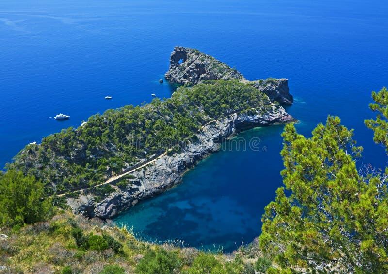 Punta De Sa Foradada, Majorca Foto de Stock