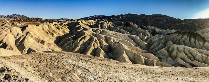 Punta Death Valley de Zabriskie fotos de archivo libres de regalías