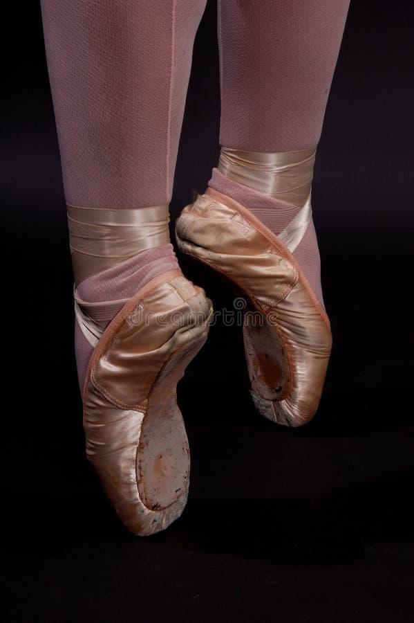 Punta del ballet fotos de archivo libres de regalías
