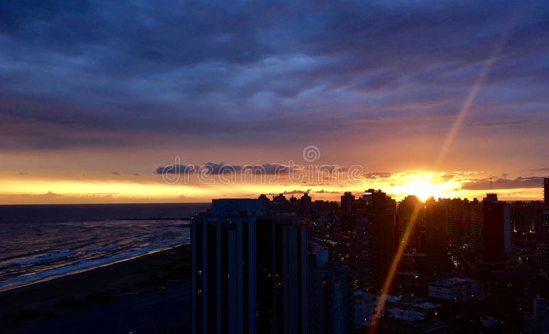 Punta del Este royalty free stock photo