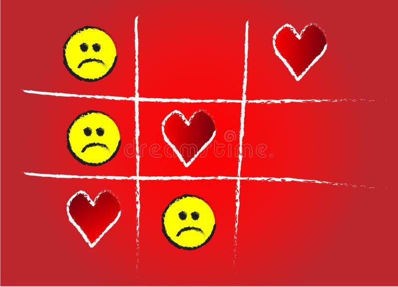 Punta del juego de amor libre illustration