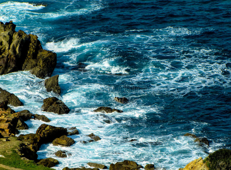 Punta del sud del Portogallo fotografia stock libera da diritti